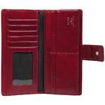 Cellini Ladies' Atlanta Long Leather Wallet Red T1029 - 2