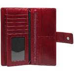 Cellini Ladies' Atlanta Long Leather Wallet Red T1029 - 3