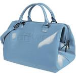 Lipault Plume Vinyl Bowling Bag Steel Blue 68464