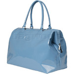 Lipault Plume Vinyl Weekend Bag Steel Blue 73900