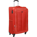 Qantas Gladstone Large 77cm Softside Suitcase Orange Q240A