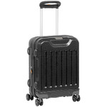 Jeep Dune Small 56cm Hardside Suitcase Black 8793C