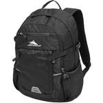 """High Sierra Shield RFID Blocking 15"""" Laptop & Tablet Backpack Black 85443"""