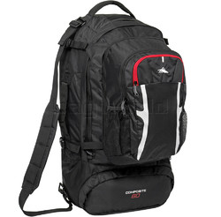 High Sierra Composite Large 80LT Travel Pack Black 78033
