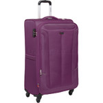 Qantas Gladstone Large 77cm Softside Suitcase Purple Q240A
