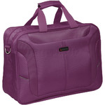 Qantas Gladstone Boarding Bag Purple QF219