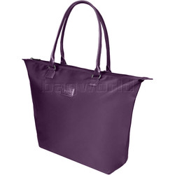Lipault Lady Plume Tote Bag Purple 68458