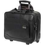 "Samsonite Savio Leather IV 15.6"" Laptop Rolling Tote Black 80448 with a FREE Samsonite Business 8GB USB"