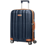 Samsonite Lite-Cube Deluxe Small/Cabin 55cm Hardside Suitcase Midnight Blue 61242