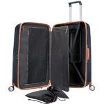 Samsonite Lite-Cube Deluxe Hardside Suitcase Set of 3 Midnight Blue 61242, 61243, 61245 with FREE Samsonite Luggage Scale 34042     - 2