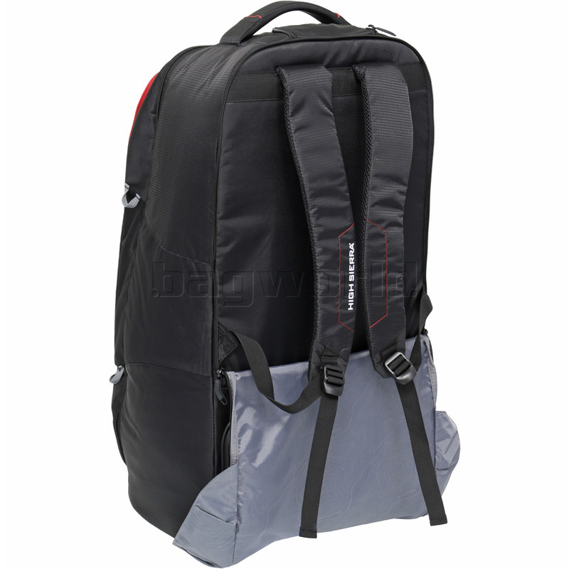 75c628021adf High Sierra Composite V3 Medium 73cm Wheeled Duffel with Backpack Straps  Black 87275