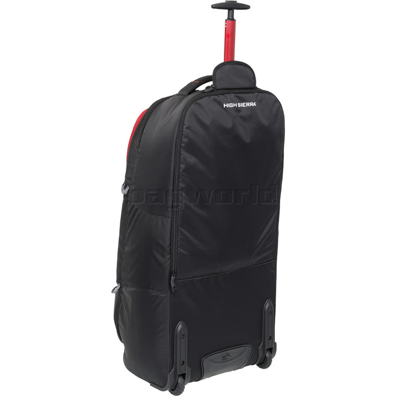 0c36e672b58e High Sierra Composite V3 Large 84cm Wheeled Duffel with Backpack Straps  Black 87276