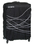 Samsonite Travel Accessories Foldable Luggage Cover Medium Plus Black 85885