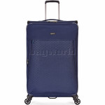 Antler Oxygen Softside Suitcase Set of 3 Blue 40826, 40816, 40815 with FREE GO Travel Luggage Scale G2006 - 2