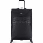 Antler Oxygen Large 81cm Softside Suitcase Black 40815 - 3