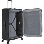 Antler Oxygen Large 81cm Softside Suitcase Black 40815 - 4