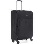 Antler Oxygen Medium 70cm Softside Suitcase Black 40816