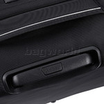Antler Oxygen Medium 70cm Softside Suitcase Black 40816 - 6
