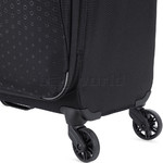 Antler Oxygen Medium 70cm Softside Suitcase Black 40816 - 7