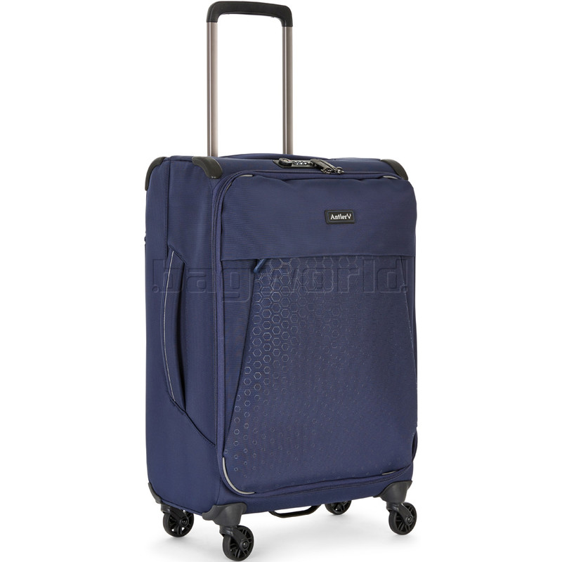 c5cccf268 Antler Oxygen Small/Cabin 56cm Softside Suitcase Blue 40826