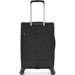 Antler Oxygen Small/Cabin 56cm Softside Suitcase Black 40826 - 1