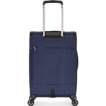 Antler Oxygen Small/Cabin 56cm Softside Suitcase Blue 40826 - 1