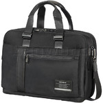 "Samsonite Open Road 15.6"" Laptop & Tablet Bailhandle EXP Briefcase Jet Black 77713"