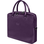 "Lipault Lady Plume Business FL 15.6"" Laptop Bailhandle Purple 73911"