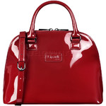 Lipault Plume Vinyl Handle Bag Ruby 77809