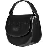 Lipault Plume Vinyl Saddle Bag Black 77811  - 3