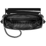 Lipault Plume Vinyl Saddle Bag Black 77811  - 4