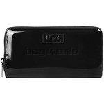Lipault Plume Vinyl Zip Around Wallet Black 77821