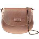 Lipault Miss Plume Saddle Bag Pink Gold 86111