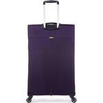 Antler Zeolite Large 80cm Softside Suitcase Purple 42615 - 1