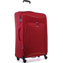 Antler Zeolite Large 80cm Softside Suitcase Red 42615