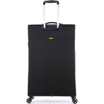 Antler Zeolite Large 80cm Softside Suitcase Black 42615 - 1