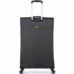 Antler Zeolite Softside Suitcase Set of 3 Charcoal 42626, 42616, 42615 with FREE GO Travel Luggage Scale G2006 - 1