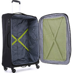 Antler Zeolite Large 80cm Softside Suitcase Black 42615 - 4