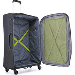 Antler Zeolite Softside Suitcase Set of 3 Charcoal 42626, 42616, 42615 with FREE GO Travel Luggage Scale G2006 - 4
