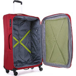 Antler Zeolite Softside Suitcase Set of 3 Red 42626, 42616, 42615 with FREE GO Travel Luggage Scale G2006 - 4
