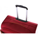 Antler Zeolite Softside Suitcase Set of 3 Red 42626, 42616, 42615 with FREE GO Travel Luggage Scale G2006 - 6
