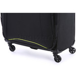 Antler Zeolite Large 80cm Softside Suitcase Black 42615 - 6