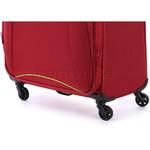 Antler Zeolite Large 80cm Softside Suitcase Red 42615 - 7