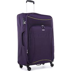 Antler Zeolite Large 80cm Softside Suitcase Purple 42615