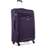 Antler Zeolite Large 80cm Softside Suitcase Purple 42615