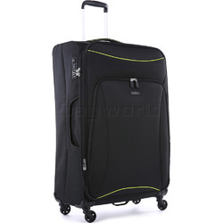 Antler Zeolite Large 80cm Softside Suitcase Black 42615