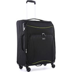 Antler Zeolite Medium 66cm Softside Suitcase Black 42616