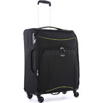Antler Zeolite Medium 66cm Softside Suitcase Black 42616