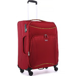 Antler Zeolite Medium 66cm Softside Suitcase Red 42616