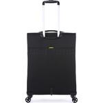 Antler Zeolite Medium 66cm Softside Suitcase Black 42616 - 1